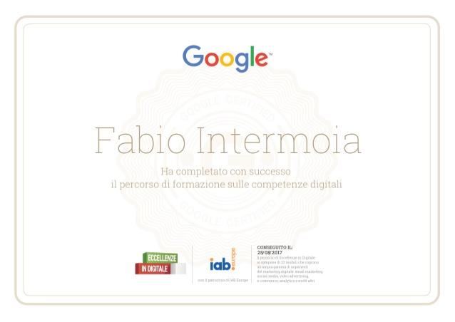 Certificato di Competenze Digitali